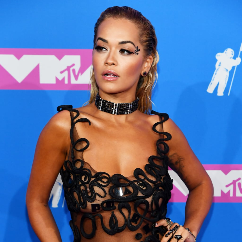 ¿Cuánto mide Dua Lipa? - Altura - Real height Rita-Ora-Dress-2018-MTV-VMAs