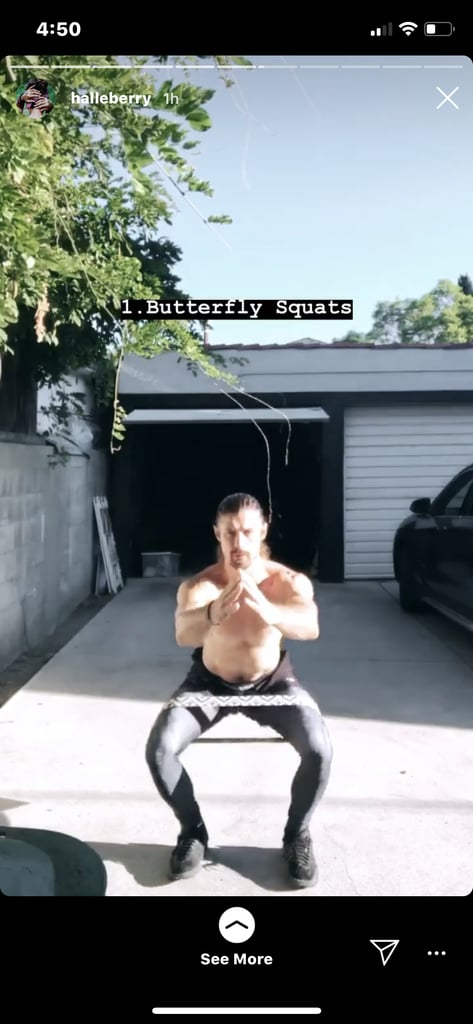 Butterfly Squat