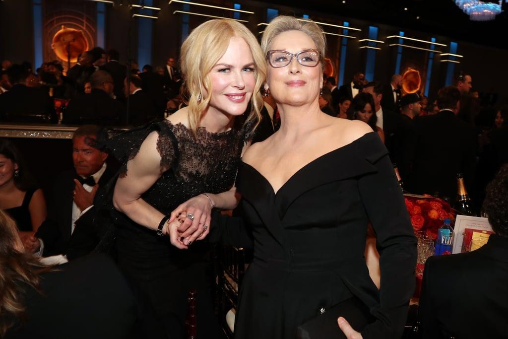 Pictured: Nicole Kidman and Meryl Streep