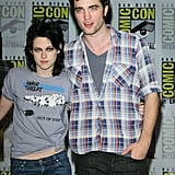 Robert Pattinson and Kristen Stewart hung out together at Comic-Con in 2009.