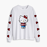 Levi's x Hello Kitty Graphic Oversize Long Sleeve Tee