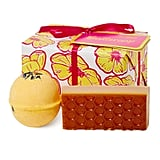 Lush Buttercup Wrapped Gift