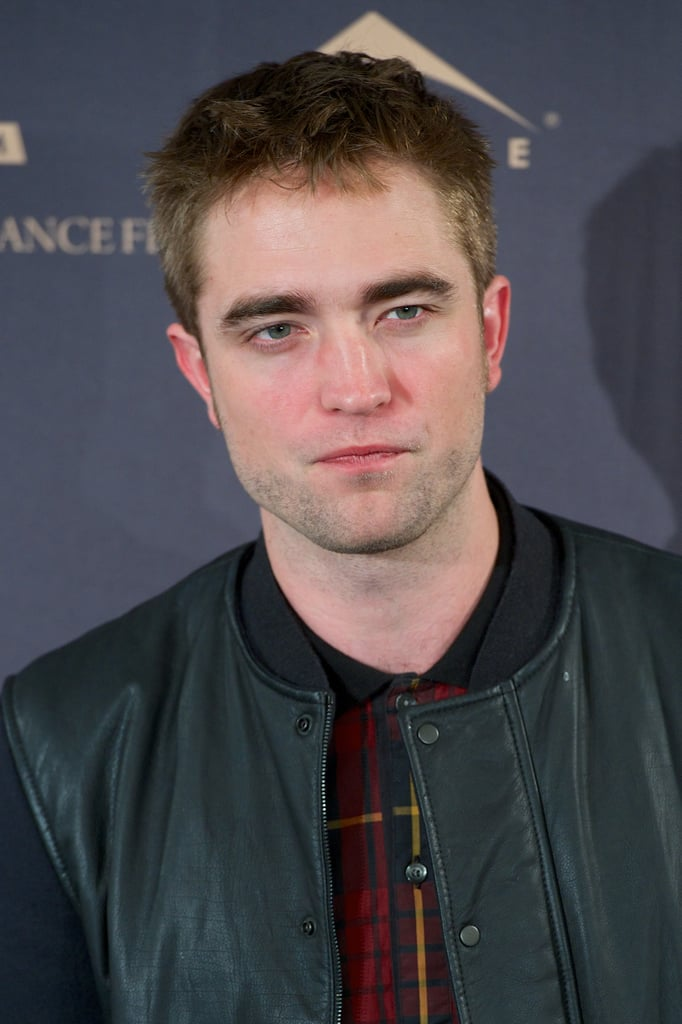 Robert Pattinson was in Madrid.