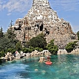 Always stand in the left line when waiting to ride the Matterhorn.