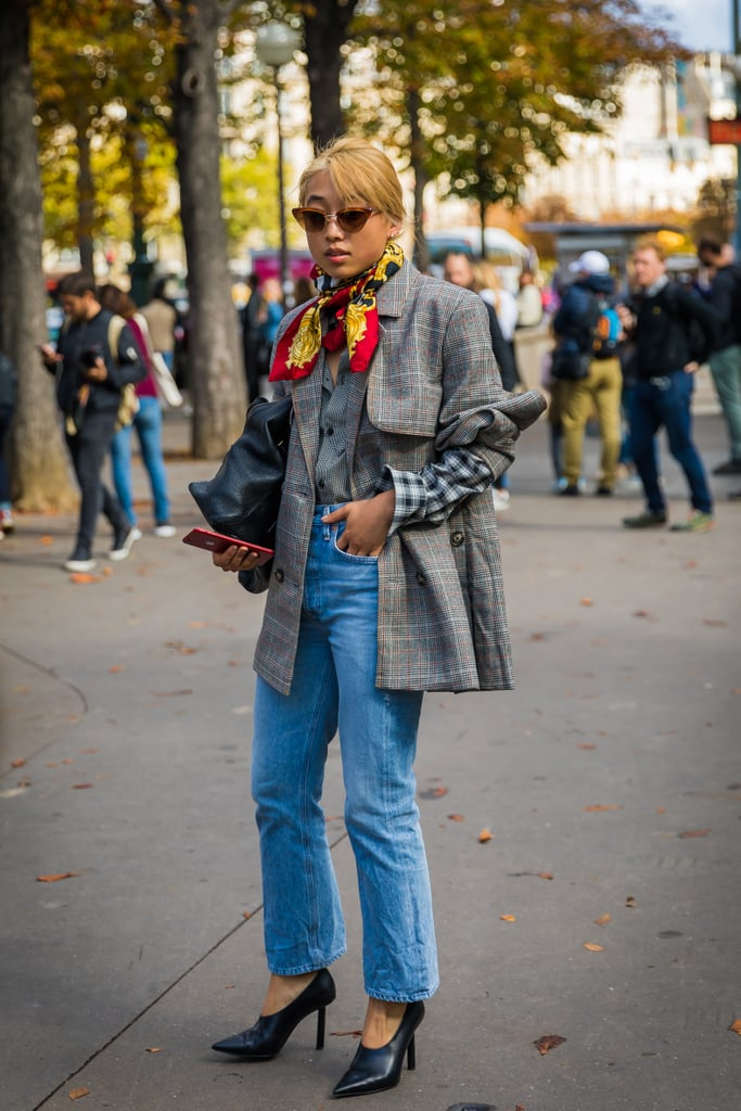 Add a Scarf to Your Outfit