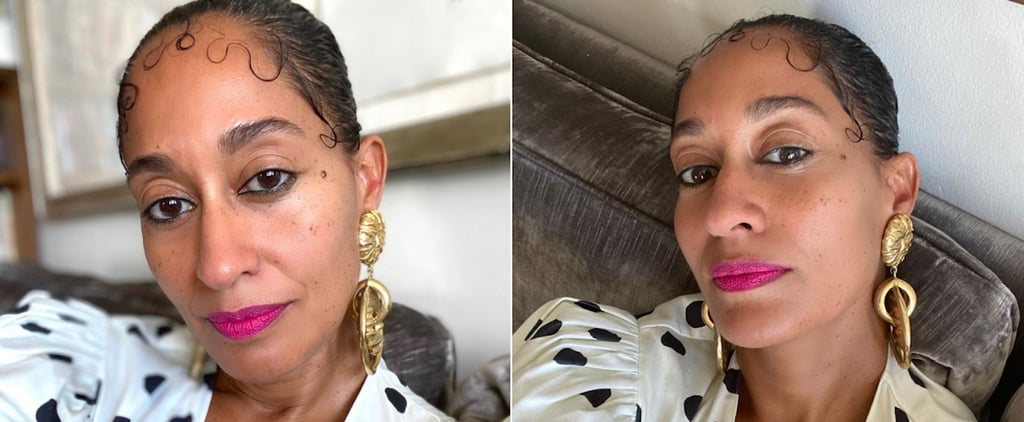 Tracee Ellis Ross Wears Baby Hairs at the BET Awards