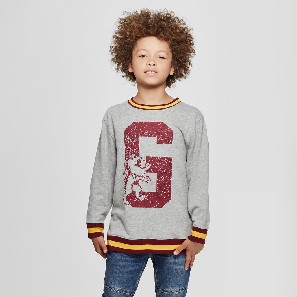 Harry Potter French Terry Gryffindor Sweatshirt