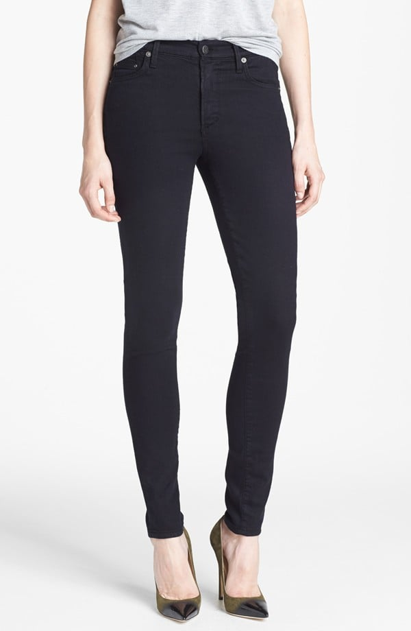 Citizens of Humanity black skinny Rocket jeans ($178)