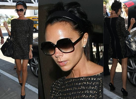 Photos Of New American Idol Guest Judge Victoria Beckham At LAX, Katy Perry Will Also Be A Guest Judge On The Series