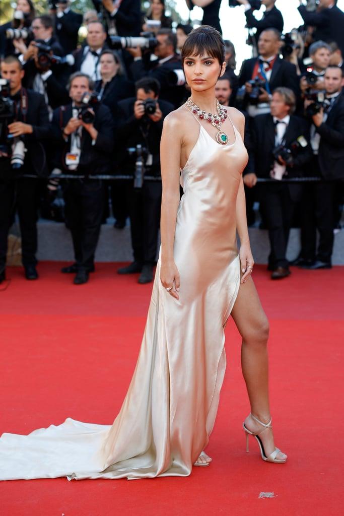 Emily Ratajkowski at the Cannes Film Festival 2017