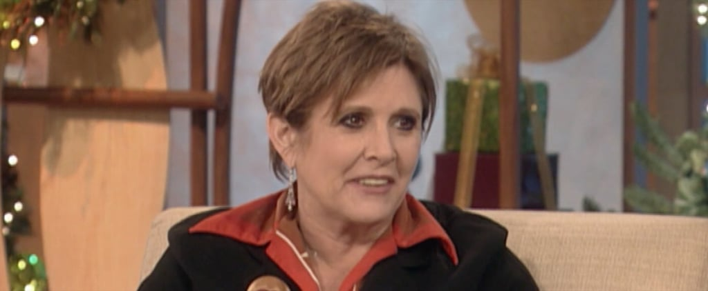 You Won't Be Able to Contain Your Smile While Watching Ellen DeGeneres's Tribute to Carrie Fisher