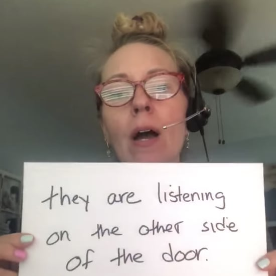 Mom Vents to Friends Over Video Chat With Written Signs