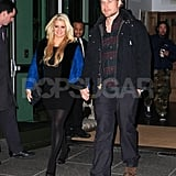 Jessica Simpson and Eric Johnson went to Il Buco for dinner in NYC.