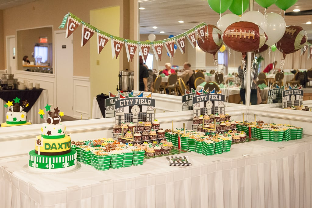 A Football Themed First Birthday Party Popsugar Family