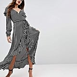 ASOS Ruffle Wrap Dress