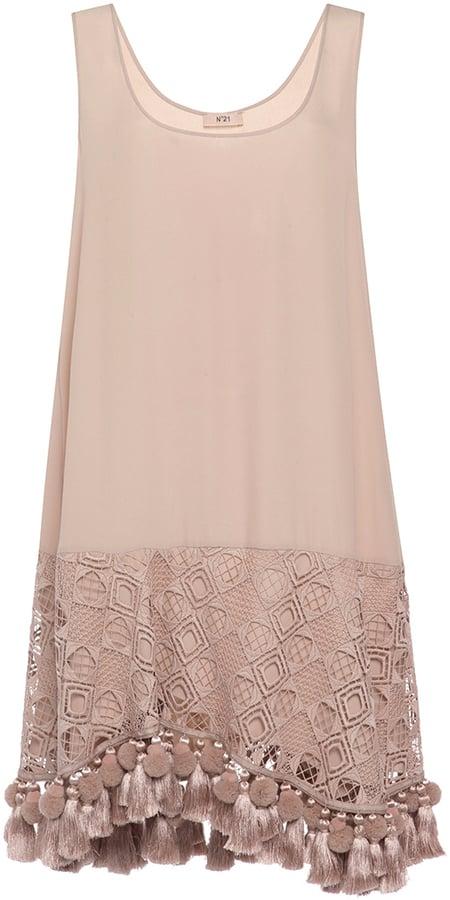 No. 21 Eyelet and Tassel Mini Dress ($1,395)