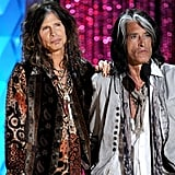 Steven Tyler and Joe Perry honored their friend Johnny Depp.