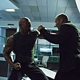 Dwayne Johnson and Jason Statham got into a heated fight in Furious 7.