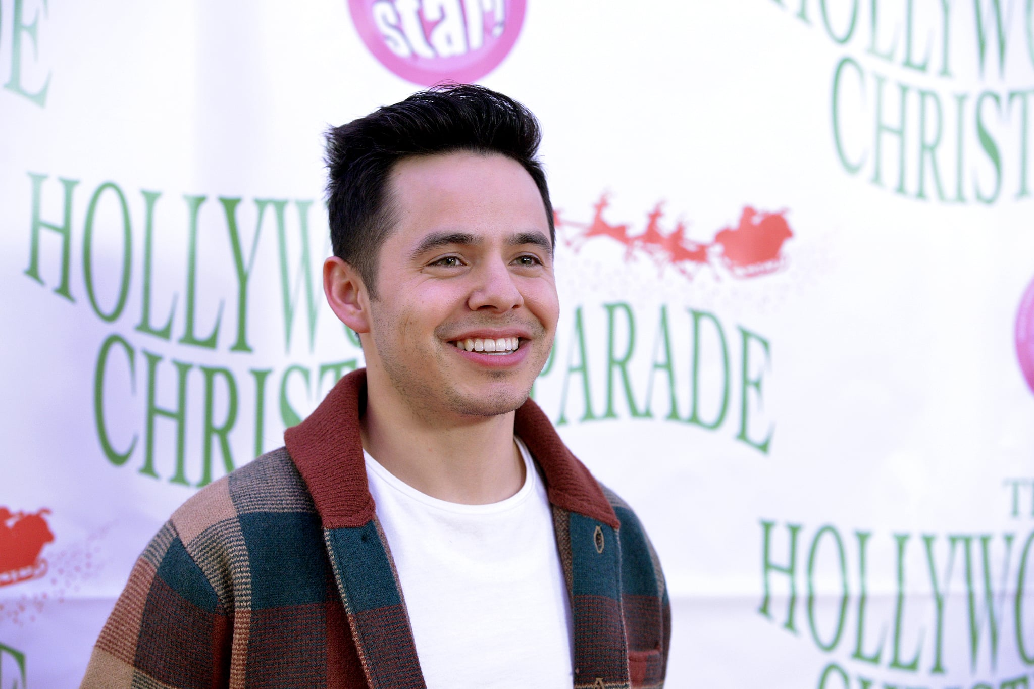 HOLLYWOOD, CALIFORNIA - DECEMBER 01: Musician David Archuleta attends the 88th annual Hollywood Christmas Parade on December 01, 2019 in Hollywood, California. (Photo by Michael Tullberg/Getty Images)