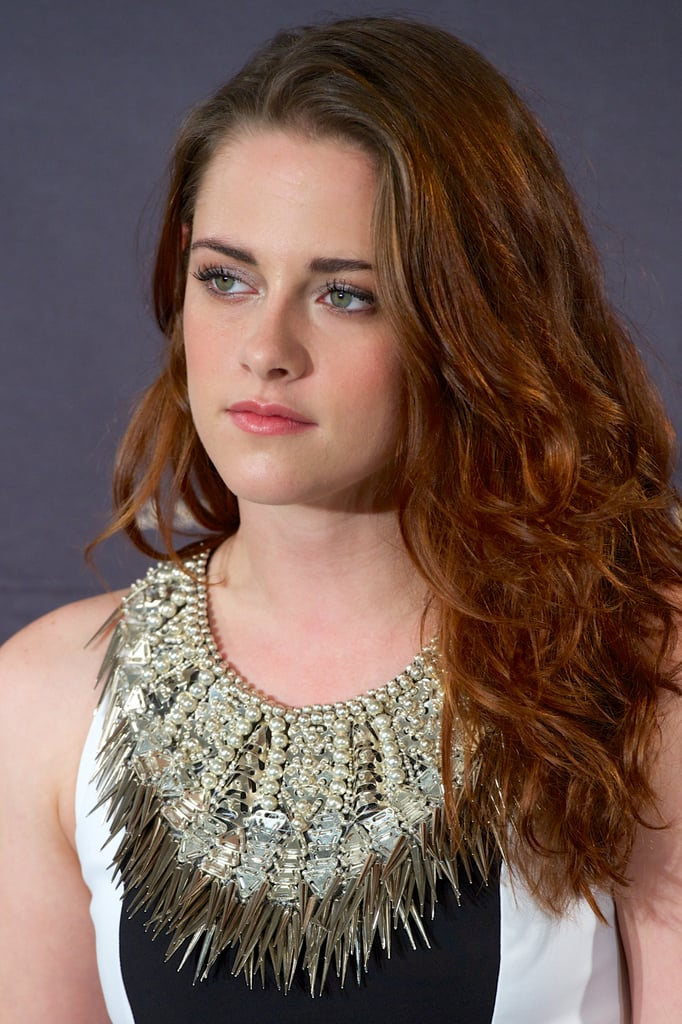 Kristen Stewart stepped out to promote Breaking Dawn —Part 2.