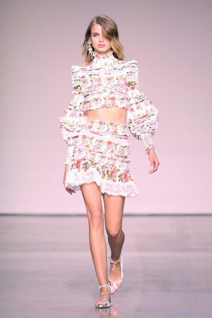 Zimmermann Spring 2018 New York Fashion Week Pictures Popsugar Fashion