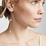 Theia Jewelry Emma Pearl Drizzle Drop Earrings