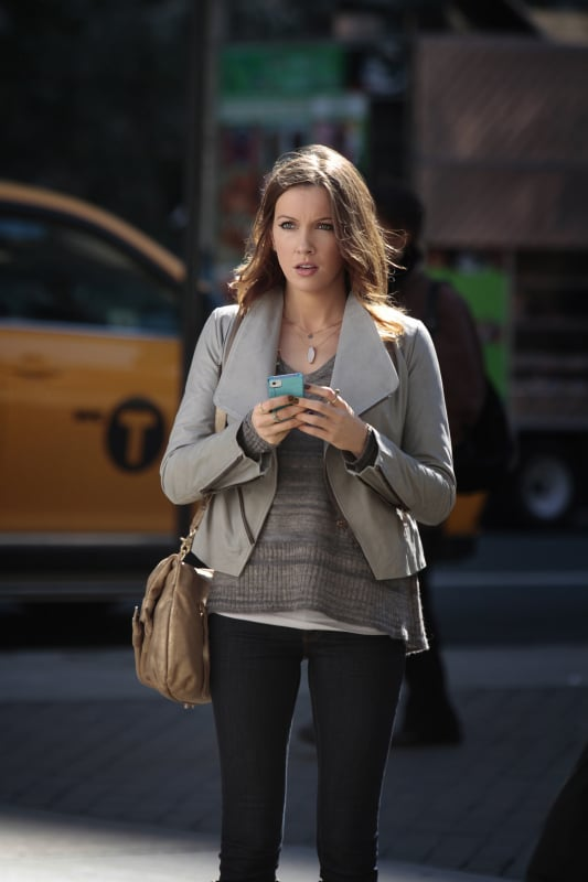 Katie Cassidy as Juliet on Gossip Girl.