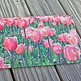 Glass Tulip Cutting Board
