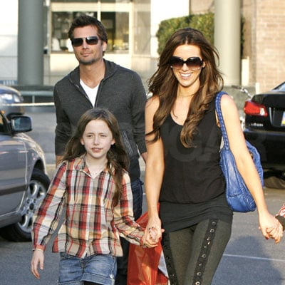 Kate Beckinsale, Len Wiseman, and Lily Sheen Out in LA