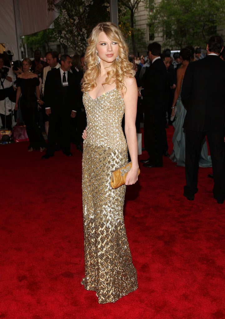 Taylor Swift Wearing Badgley Mischka in 2008