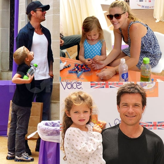 Ryan Phillippe and Busy Philipps Spend a Crafty Day With Their Little Ones