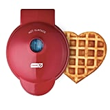 Dash Mini Maker Machine For Heart Shaped Individual Waffles