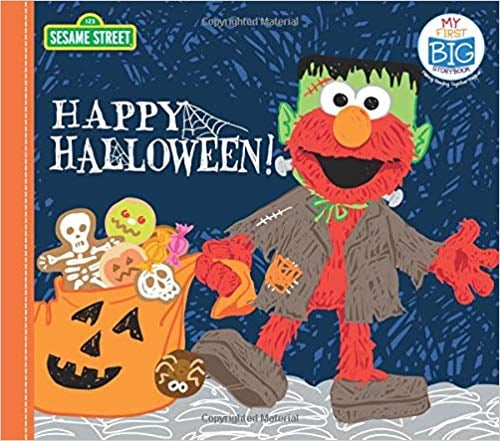 For Ages 3 to 5: Happy Halloween!