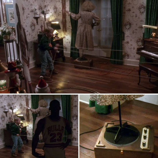 Home alone dancing in the house scene picture.
