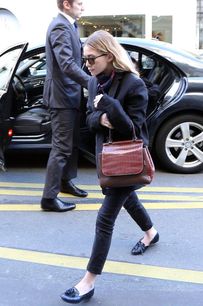 Ashley Olsen in Paris
