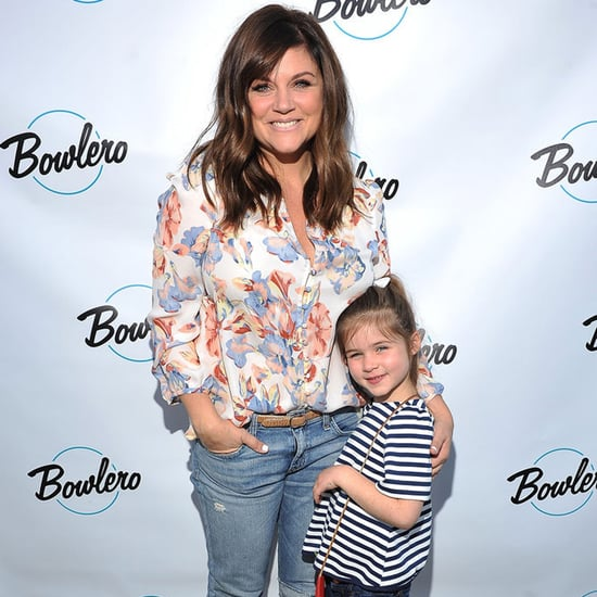 Tiffani Thiessen and Daughter at Bowling Event in LA 2016