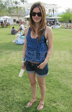 Picture of Rachel Bilson in Joie Sandals at Coachella