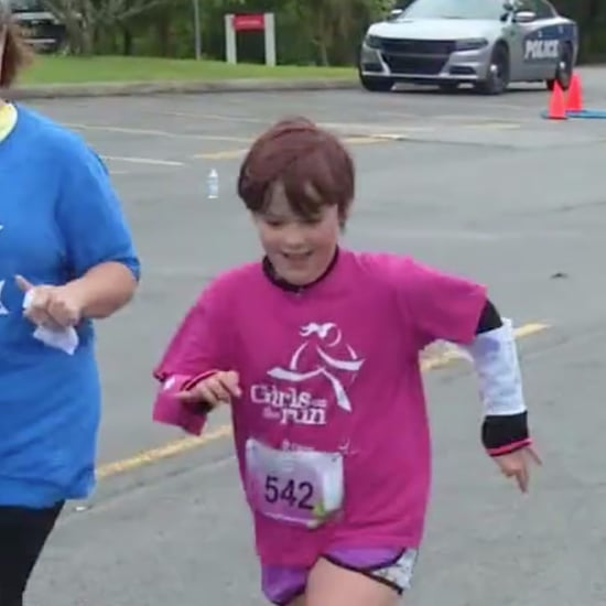 Girl With Spina Bifida Runs 5K Race