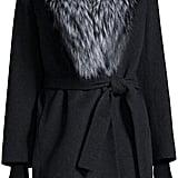 aa5baa4fc535 ... Karen Walker Deep Freeze Sunglasses ( 250) Fleurette Wool Wrap Coat W   Fur Collar ( 1