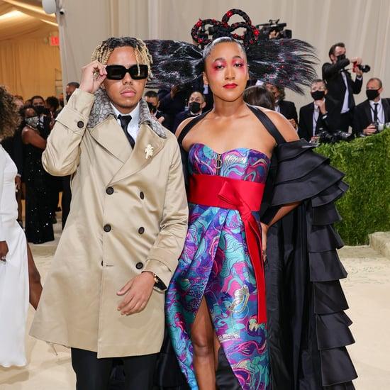 Naomi Osaka and Cordae at the Met Gala 2021