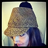 Kate Waterhouse tweeted her favourite buy — a Burberry hat! Twitter User: KateWaterhouse7