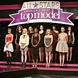 The judges had to deliberate about 10 girls this week.  Photo courtesy of CW