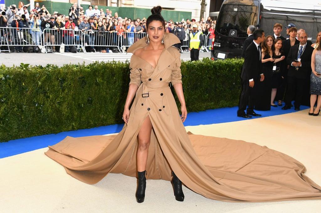 Priyanka Chopra Wore a Ralph Lauren Coat to the Met Gala
