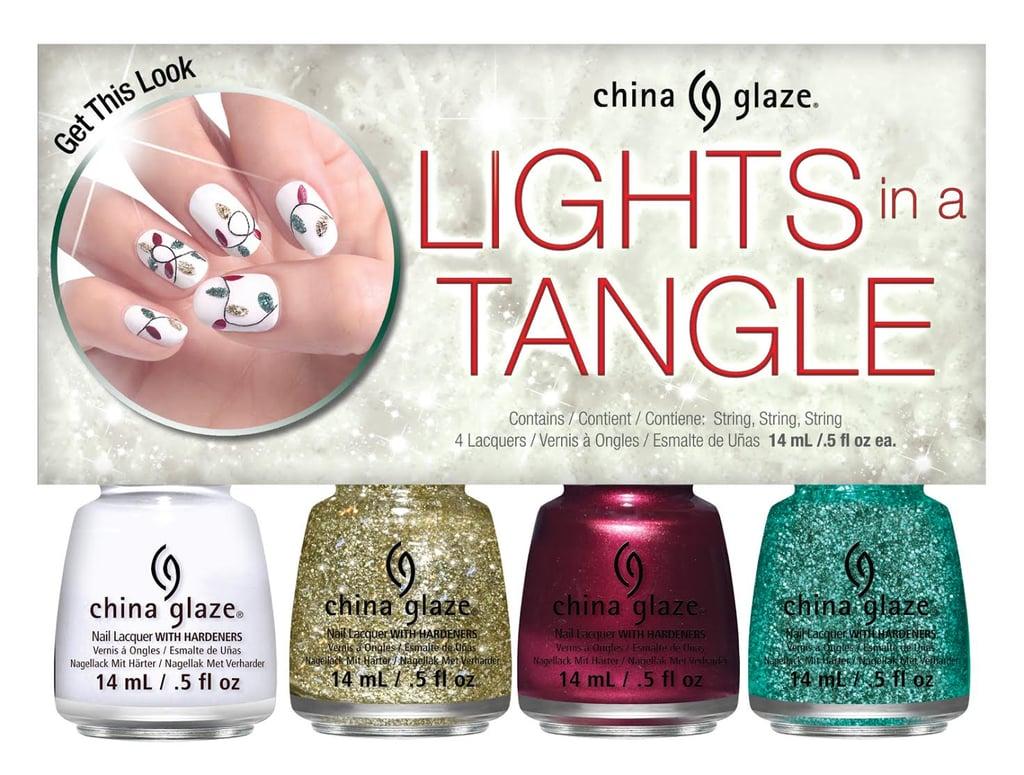 China Glaze Lights in a Tangle Set