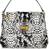 The perfect satchel for the working girl.  Marc by Marc Jacobs Lil Ulkita Faux Python Bag ($180, originally $300)