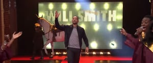 Will Smith Stages 3 Different Entrances on The Tonight Show, Because He's That Awesome