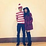 Where's Waldo and Carmen Sandiego: The Costume