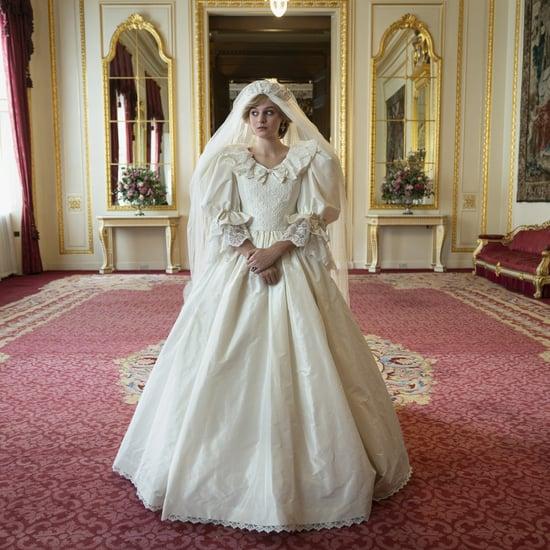 Princess Diana's Wedding Dress in The Crown Season 4 Details
