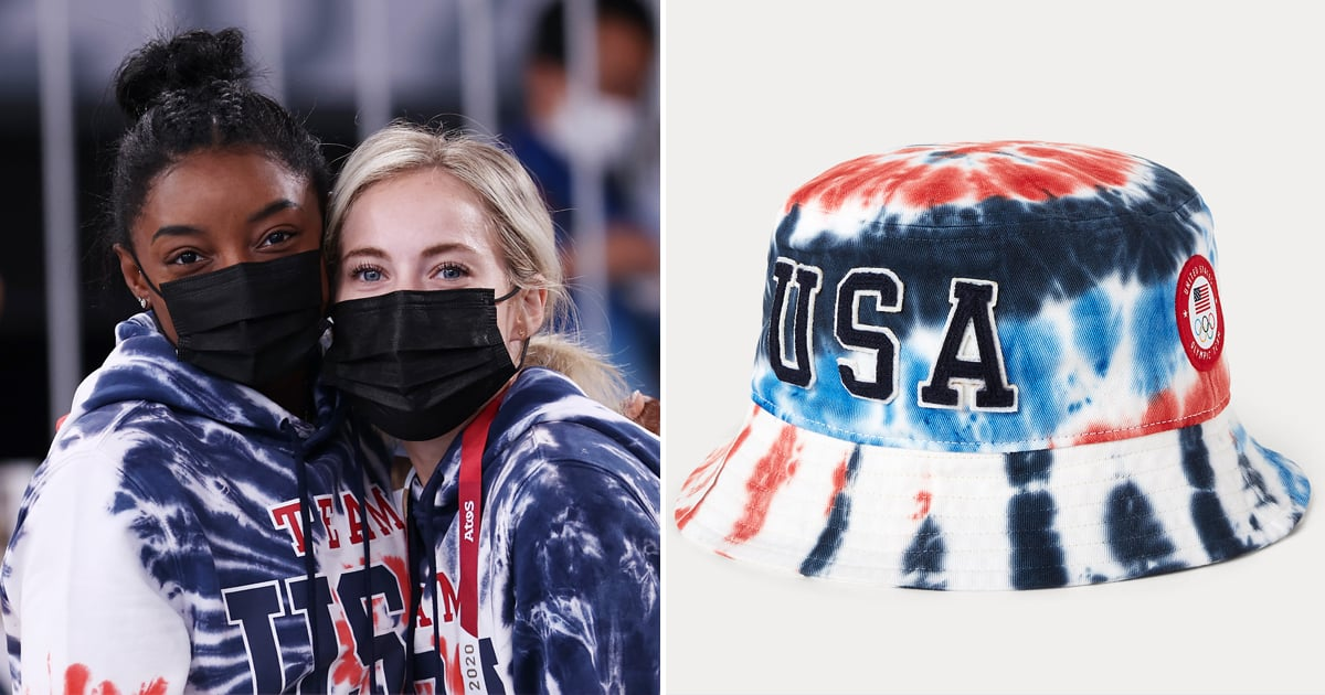 Loving the Tie-Dye Bucket Hats US Olympians Are Wearing? You Can Buy 'Em Online