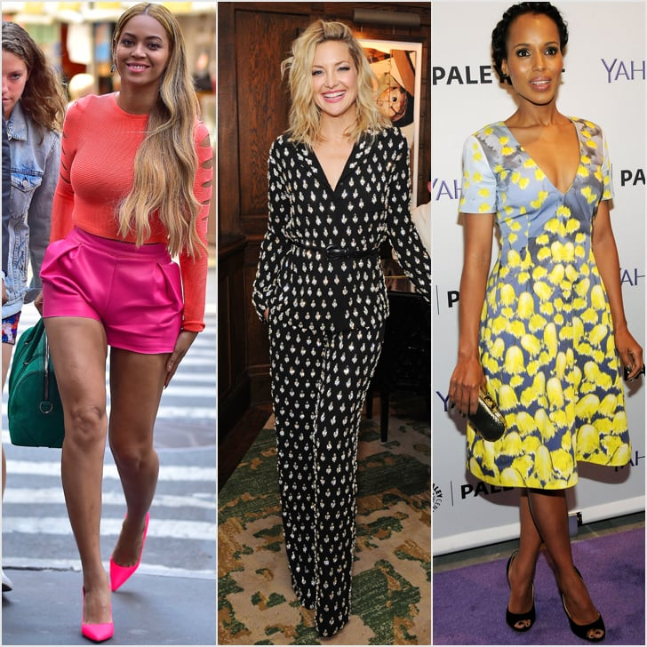 The Right Way to Wear Bright Colour and Bold Prints